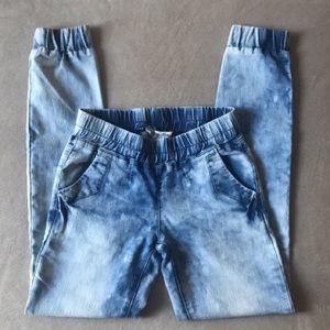 💥ON SALE!!💥Acid wash Jean-joggers